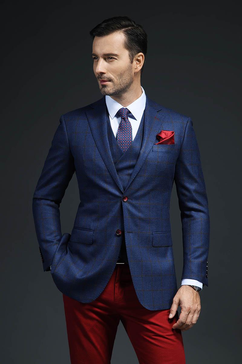 乾龙单西量身定制新品秋季西装男修身时尚休闲潮流西服外套定做